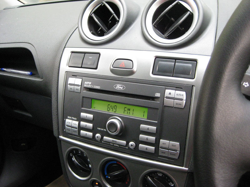 Wiring A Sub Into The Standard Head Unit Mk6 Fiesta St Rhfordfiestastcouk: Ford Fiesta Radio At Gmaili.net